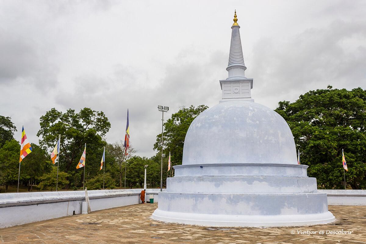 Stupa a Anuradhapura petita
