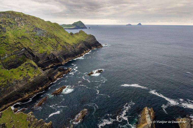 els kerry cliffs van ser de les millors vistes del viatge a irlanda