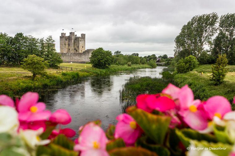 vista de trim un poble medieval irlanda