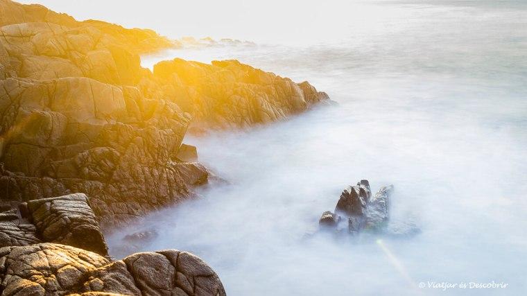 posta de sol a la costa del viatge a irlanda