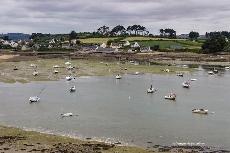 vaixells a la badia de morlaix