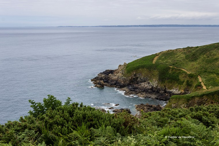 paisatges de la costa bretona amb bicicleta