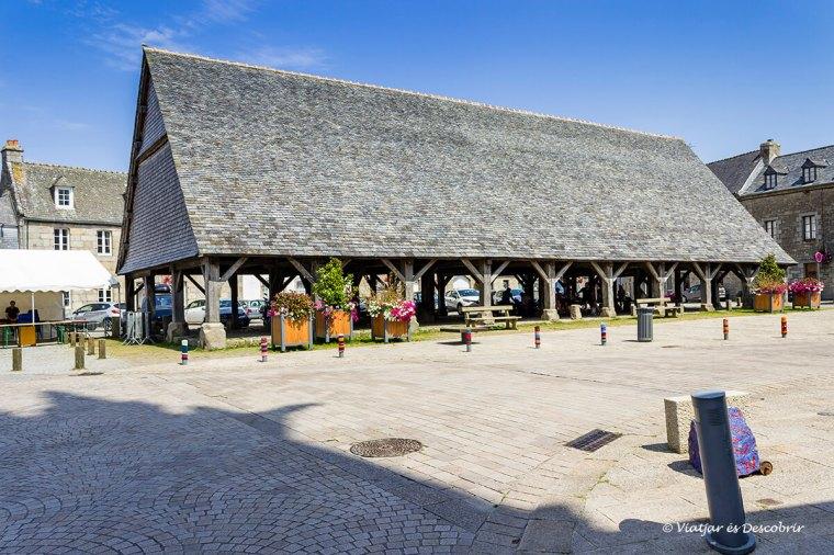 Plouescat té un centre amb molta història