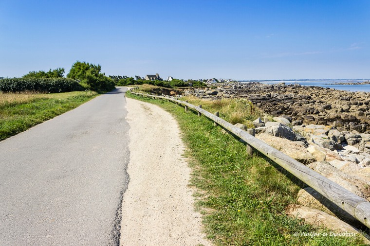 tram litoral costa bretona amb bicicleta