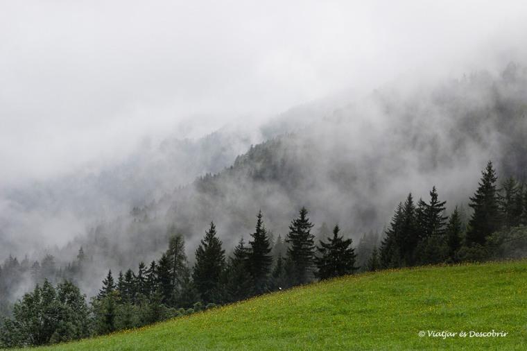 boira i muntanyes a eslovenia