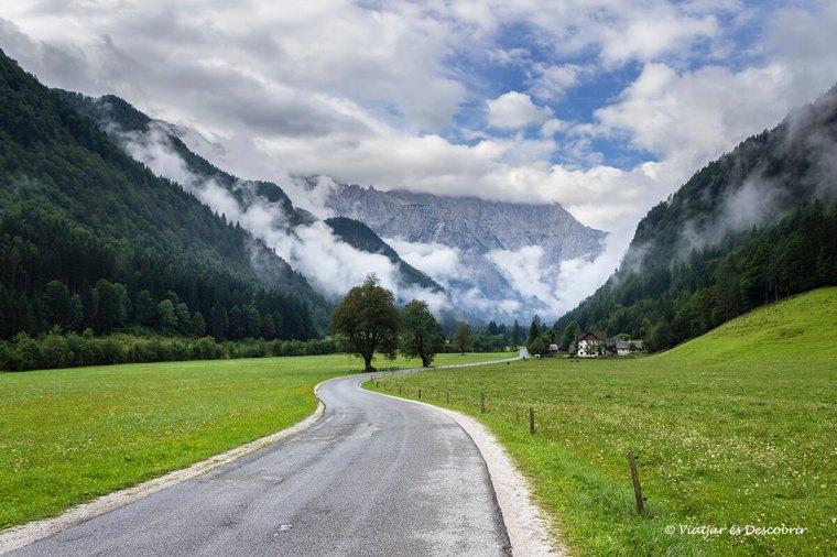 arribada a la vall de logarska dolina