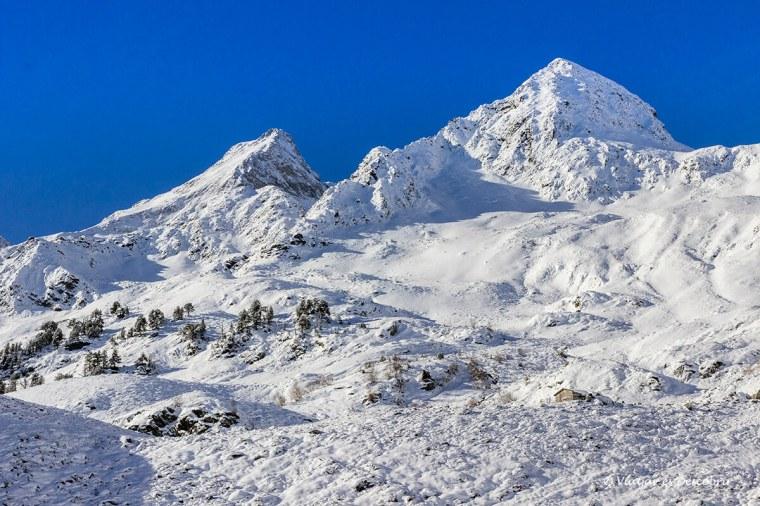 paisatge nevat la vall d'aran