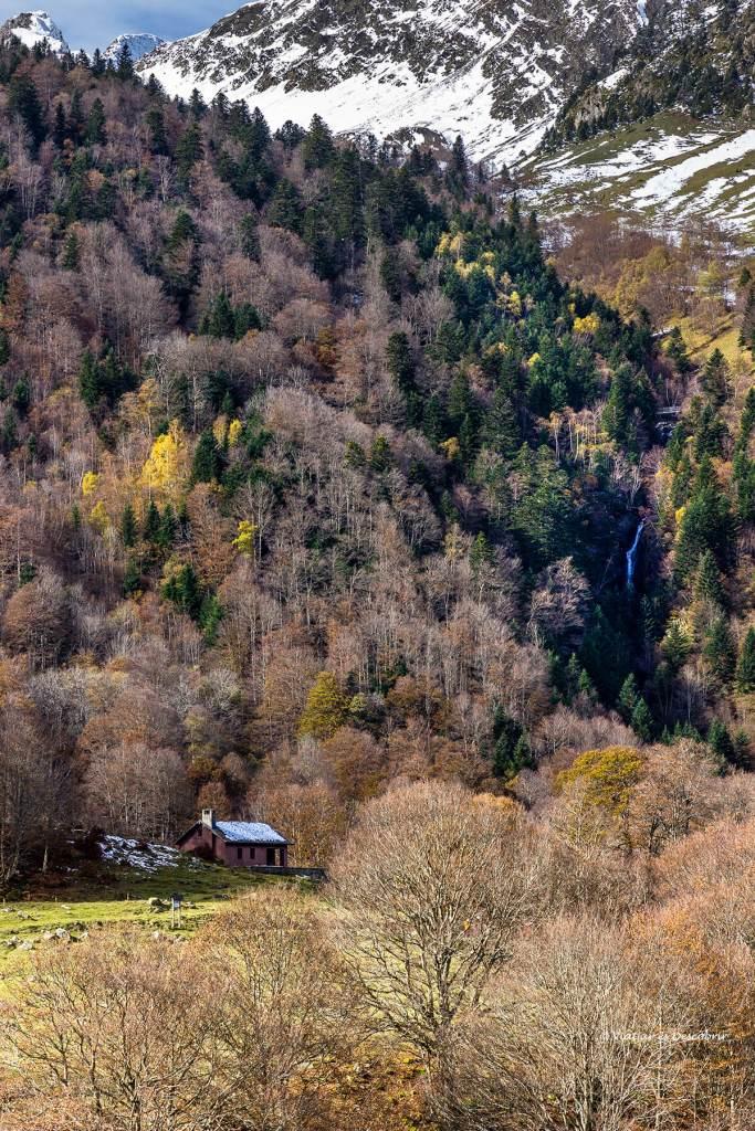 cabanya de l'artiga de lin a la vall d'aran