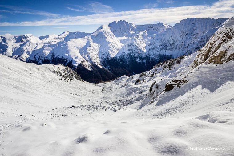 muntanyes de la vall d'aran