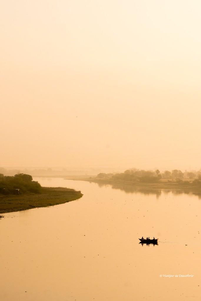 el riu Yamuna és un dels rius sagrats del Rajastán