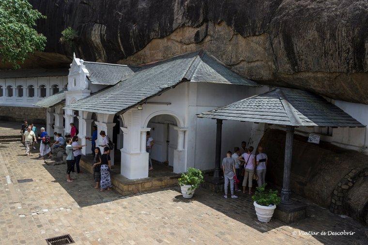 exterior de les coves dambulla budistes